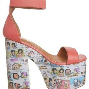 NWB - JEFFREY CAMPBELL • Funnies Platform Sandals